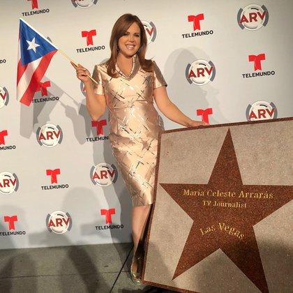 La productora y presentadora del programa de noticias de Al Rojo Vivo, se convirtió en la primera personalidad puertorriqueña en obtener este importante reconocimiento. Foto: Quique Usales