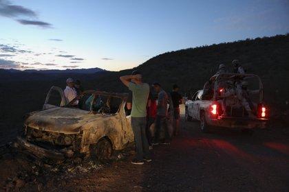 La masacre de Bavispe, según dijeron las autoridades en un inicio, fue por presunta confusión de grupos rivales (Foto:Herika MARTINEZ / AFP)
