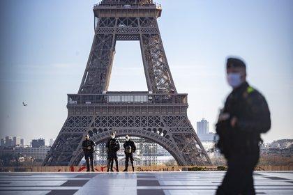 La Torre Eiffel, en París, Francia