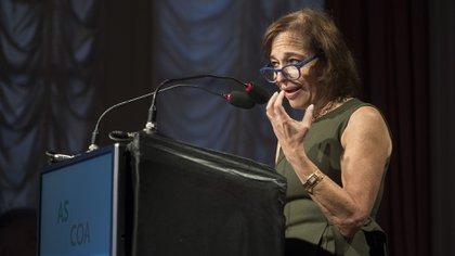 La presidente y CEO del Council of the Americas, Susan Segal, fue la anfitriona y moderadora del evento en el que expuso el ministro Martín Guzmán