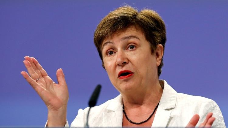 La búlgara Kristalina Ivanova Georgieva (AFP)