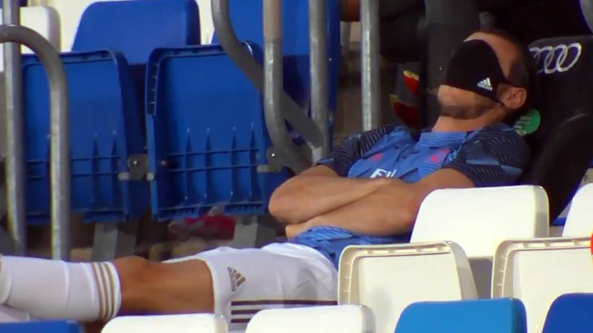 ¿Cómo ha vivido Gareth Bale el partido desde la grada?