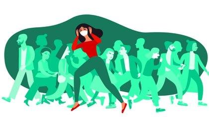 Están bien documentados los efectos devastadores sobre la salud personal y colectiva del encierro compulsivo de poblaciones sanas (Shutterstock)