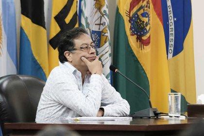 Gustavo Petro senador colombiano. EFE/Jeffrey Arguedas/Archivo