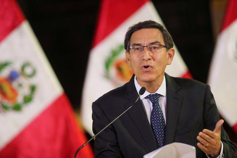 Martin Vizcarra, presidente de Perú desde 2018 (Presidencia de Perú/vía Reuters)