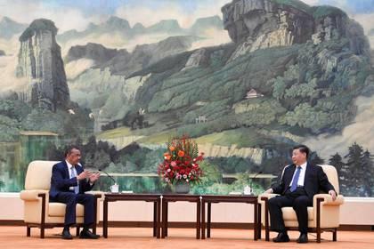 Tedros Adhanom y Xi Jinping se reunieron a fines de enero (Reuters)