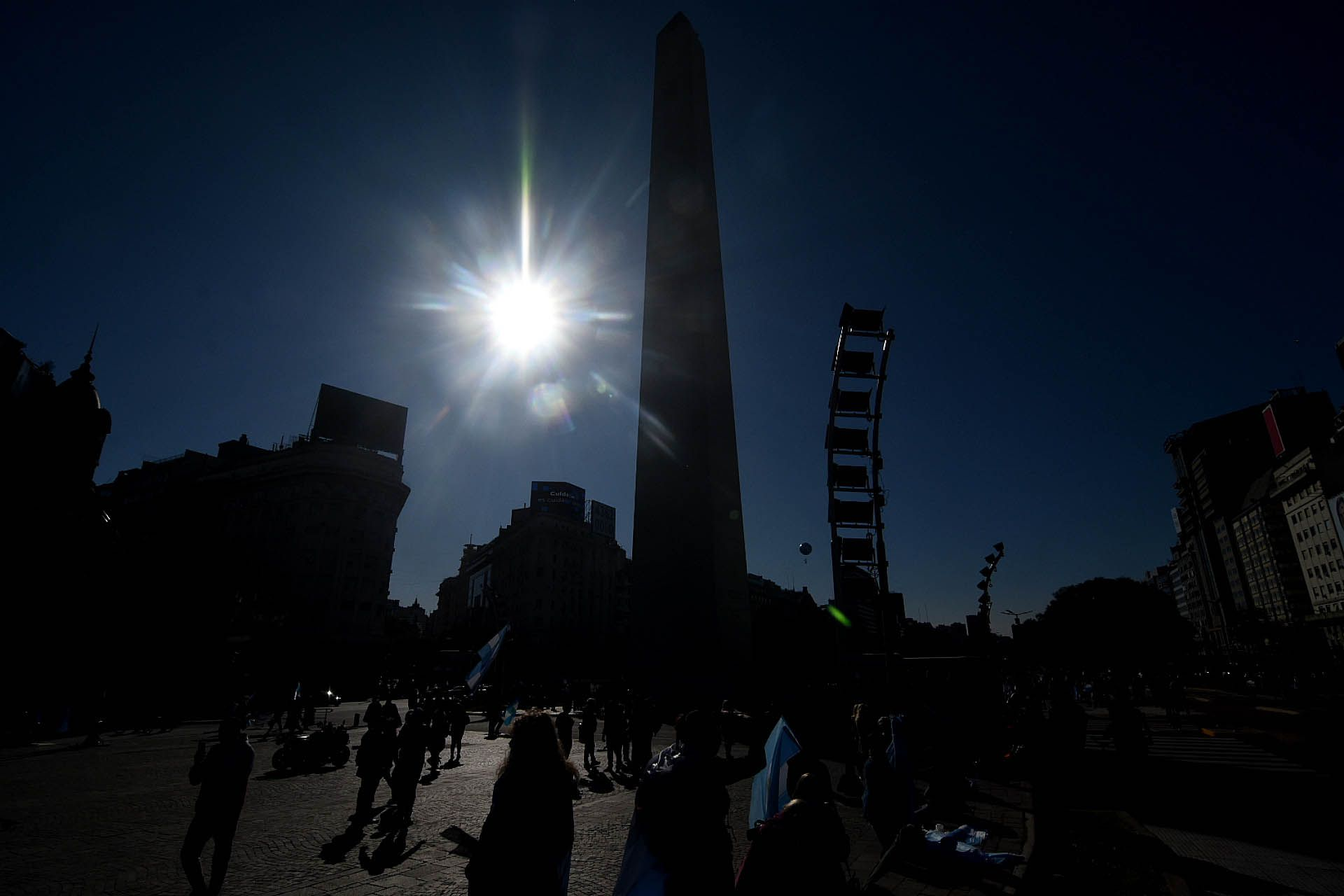 Banderazo - marcha 17A Obelisco