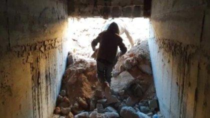 El túnel fue descubierto en la mansión popularmente conocida como la de Las mil y una noches (Foto: Especial)