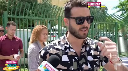 Debido a que la investigación sigue en curso, el protagonista de telenovelas no puede hablar nada sobre el caso (Foto: Telemundo)