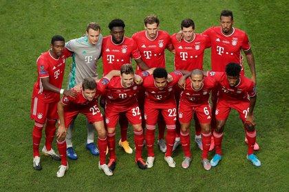 El once del Bayern Múnich, con Neuer como capitán y Lewandoski como la carta del gol del equipo alemán