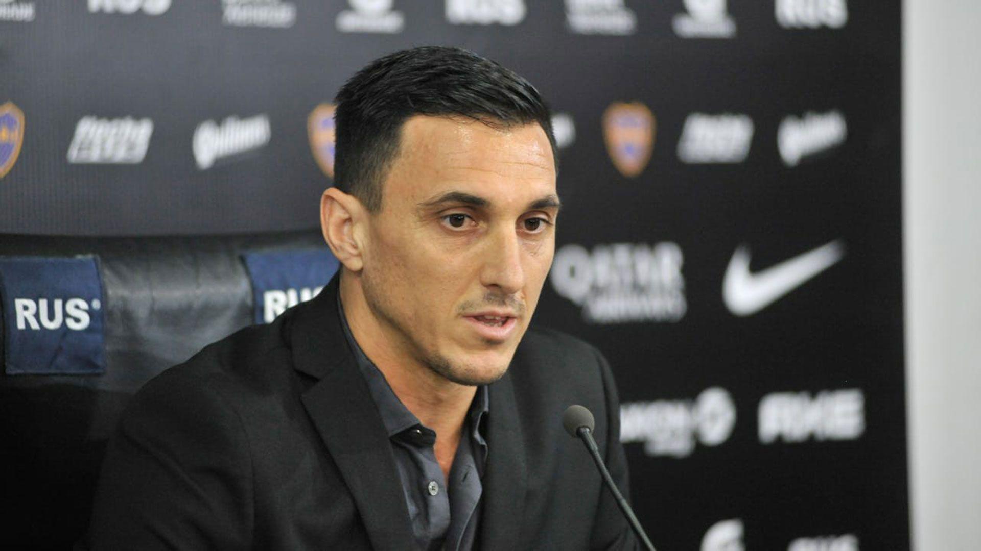 Nicolás Burdisso, director deportivo de Boca (Foto: Jaime Olivos)