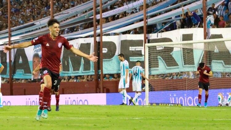 Lanús venció a Racing y es puntero de la Superliga, junto con Boca y Argentinos