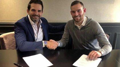 El delantero habría firmado un contrato de cinco años, a razón de USD 2,8 millones por año (Foto: Rayados de Monterrey)