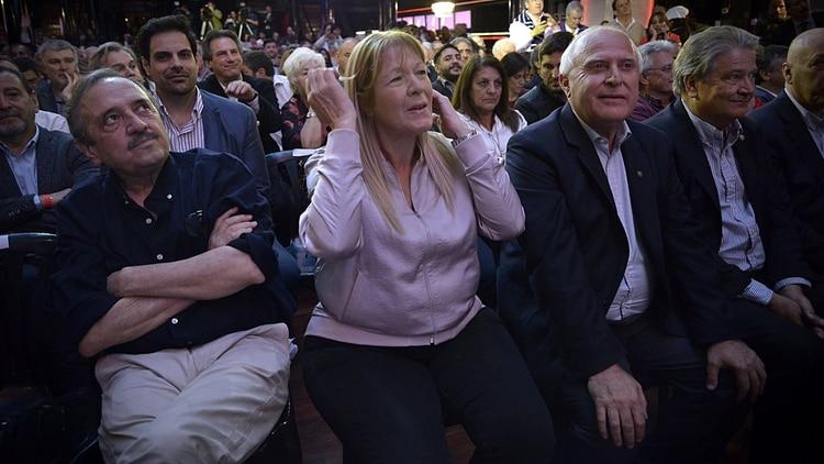 Ricardo Alfonsín, Margarita Stolbizer y Miguel Lifschitz están dispuestos a formar una coalición con el peronismo federal