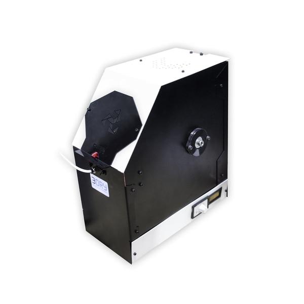 La secadora cuenta con una tecnología de calentamiento innovadora, que acelera y automatiza el secado de filamentos de gran variedad de productos
