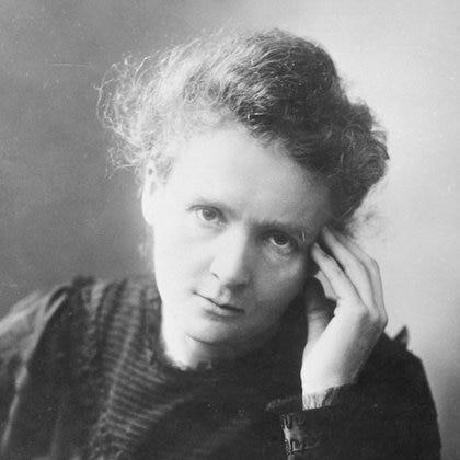 Marie Curie, científica polaco-francesa, descubridora del radio y el polonio, pionera de los tratamientos contra el cáncer (Museo de Ciencia y Tecnología de Suecia)