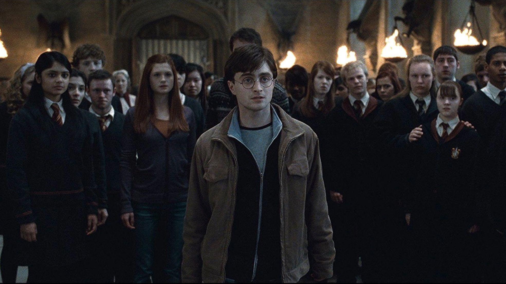 """Daniel Radcliffe en una escena de """"Harry Potter y las reliquias de la muerte: parte 2"""" WARNER BROS"""