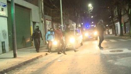 Intervinieron efectivos de la Comisaría Comunal 1-C de la Policía de la Ciudad.