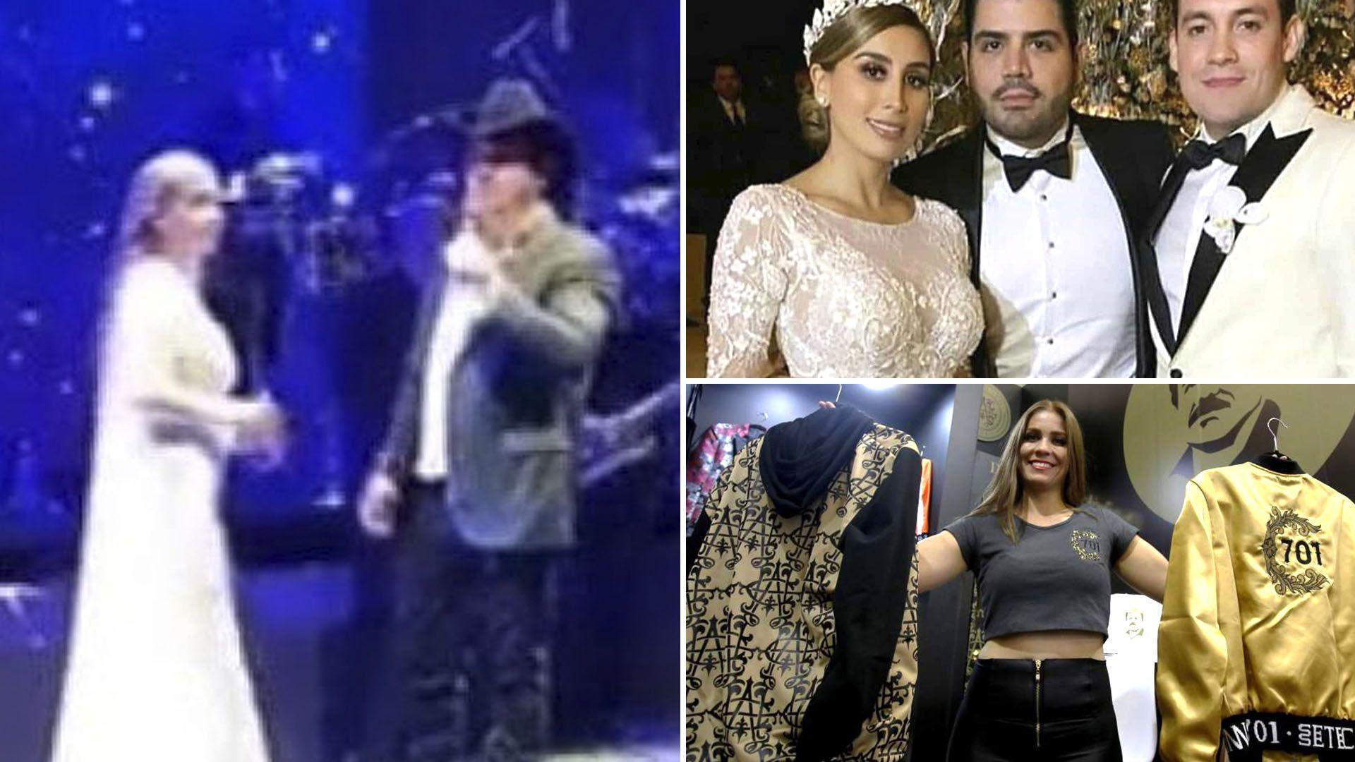 "La boda de Alejandrina Gisselle Guzmán Salazar, hija de Joaquín ""El Chapo"" Guzmán  (Foto: Twitter/@just_some_d00d)"