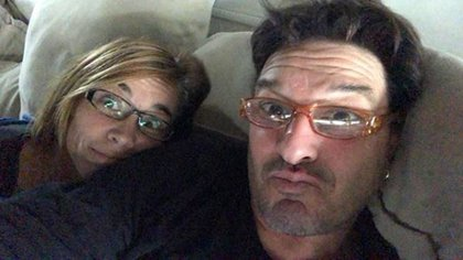 El actor y Vanina, su esposa (Foto: Instagram)