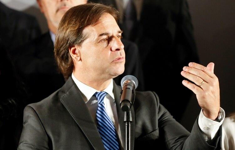 """Resultado de imagem para Luis Lacalle Pou: """"Vamos a ponernos en la vía que hablaron Jair Bolsonaro y Mauricio Macri de flexibilizar el Mercosur"""""""