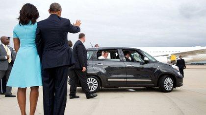 El presidente Barack Obama y el papa Francisco