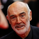 FILE PHOTO: Actor Sean Connery arrives for the Edinburgh International Film Festival opening night showing of the animated movie 'The Illusionist' at the Festival Theatre in Edinburgh, Scotland June 16, 2010. REUTERS/David Moir/File Photo