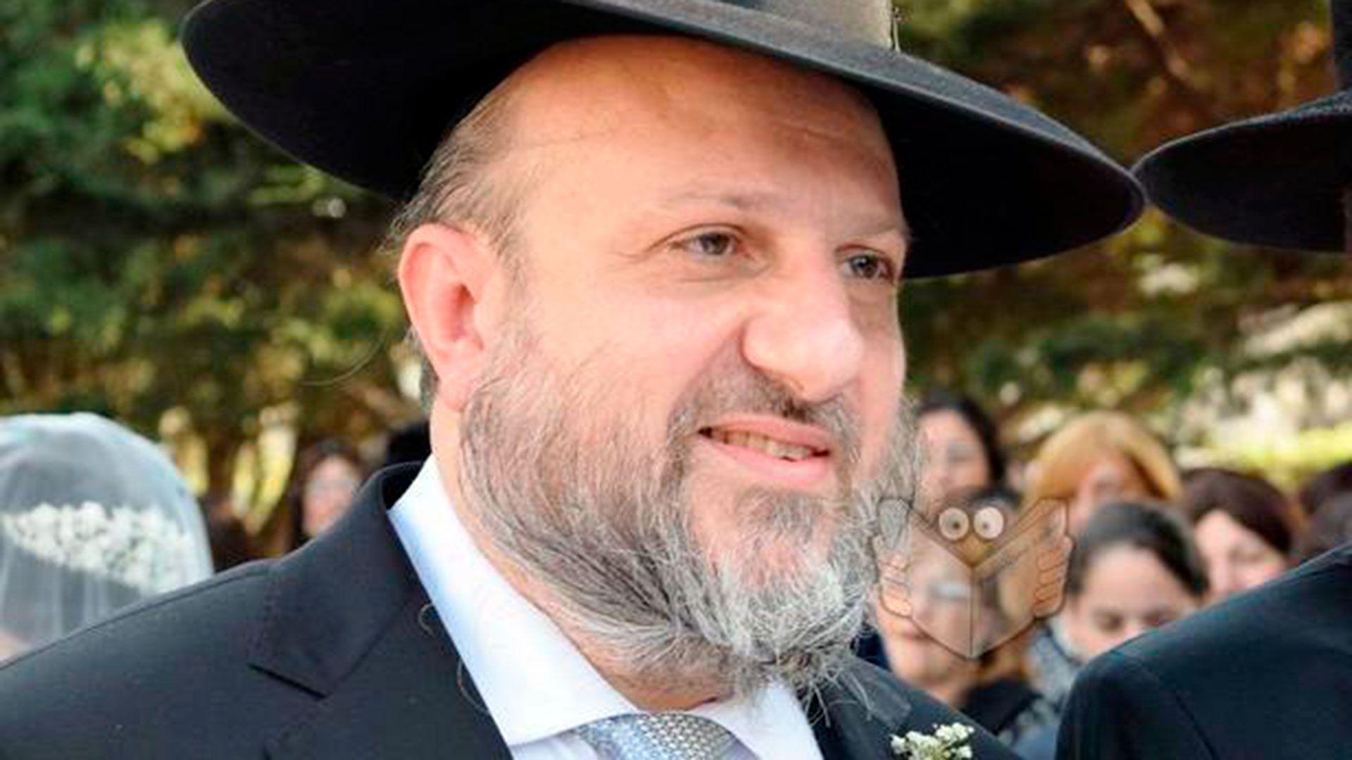 El rabino Gabriel Yabra tenía 55 años y estaba internado desde el sábado en terapia intensiva. Murió hoy de coronavirus (Fuente / Agencia AJN)