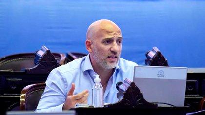 El diputado nacional de la UCR Emiliano Yacobitti