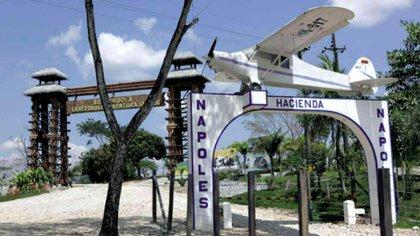 Hacienda Nápoles propiedad del narcotraficante Pablo Escobar convertida parque temático