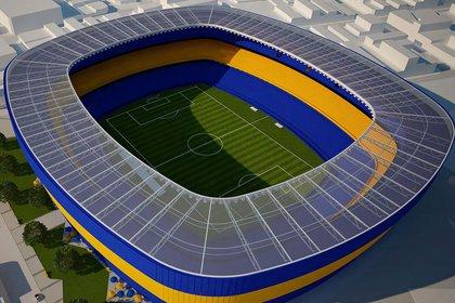 La agrupación de Ameal maneja el proyecto Bombonera 360 para remodelar el estadio