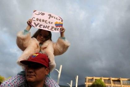 Protestas en Colombia. (REUTERS/Luisa Gonzalez)
