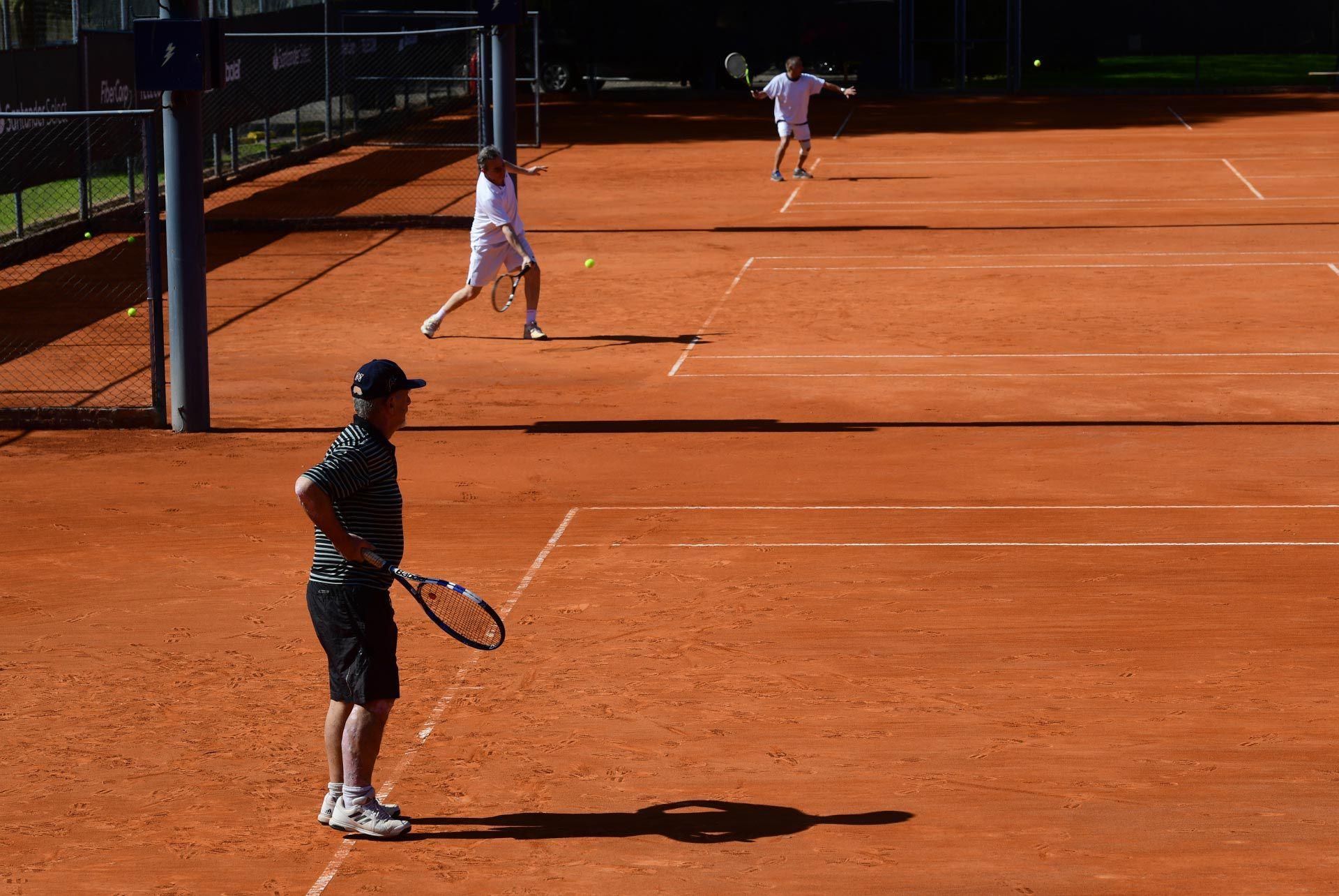 Apertura canchas de tenis