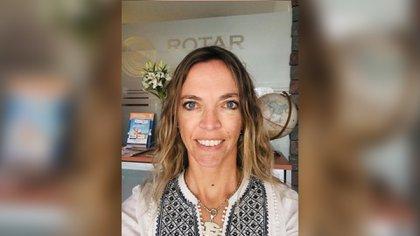 Lucila Roth trabaja en turimo desde hace 17 años