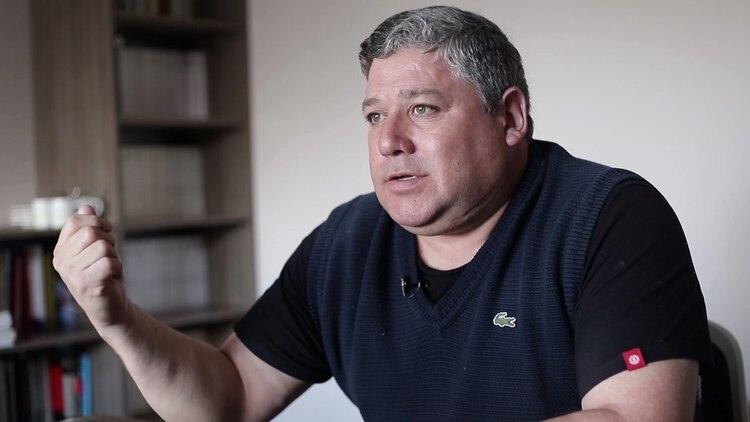 Hugo Moya, ex custodio de Melella, se presentó en la Justicia para declarar como testigo.
