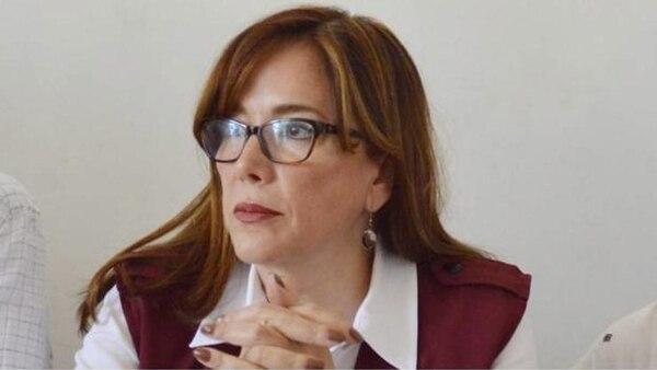 Yeidkol Polevnskin, dirigente nacional de Morena y una de las más cercanas a López Obrador