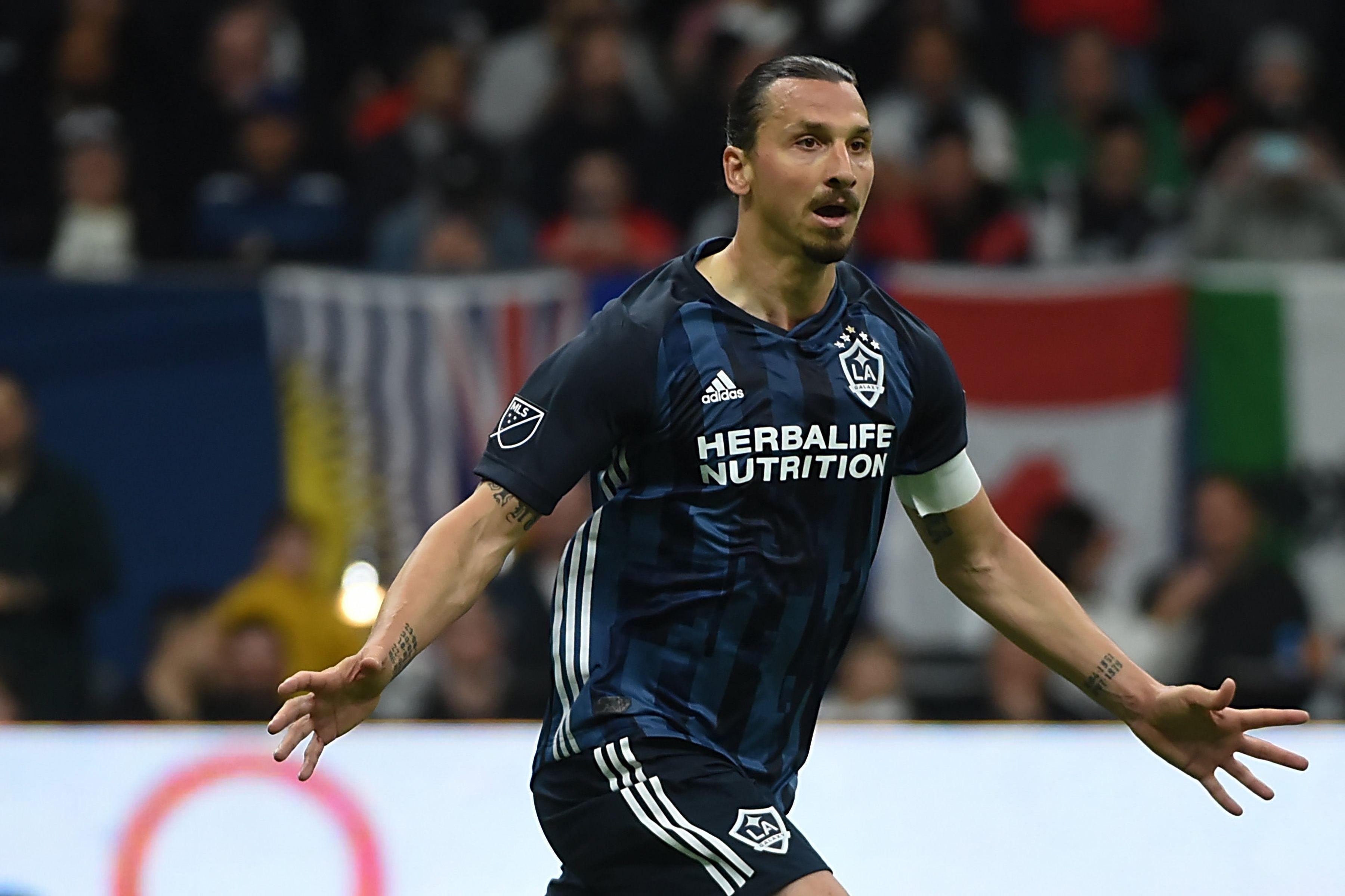 Ibrahimovic jugó dos temporadas en la MLS y marco más de 50 goles (Reuters)