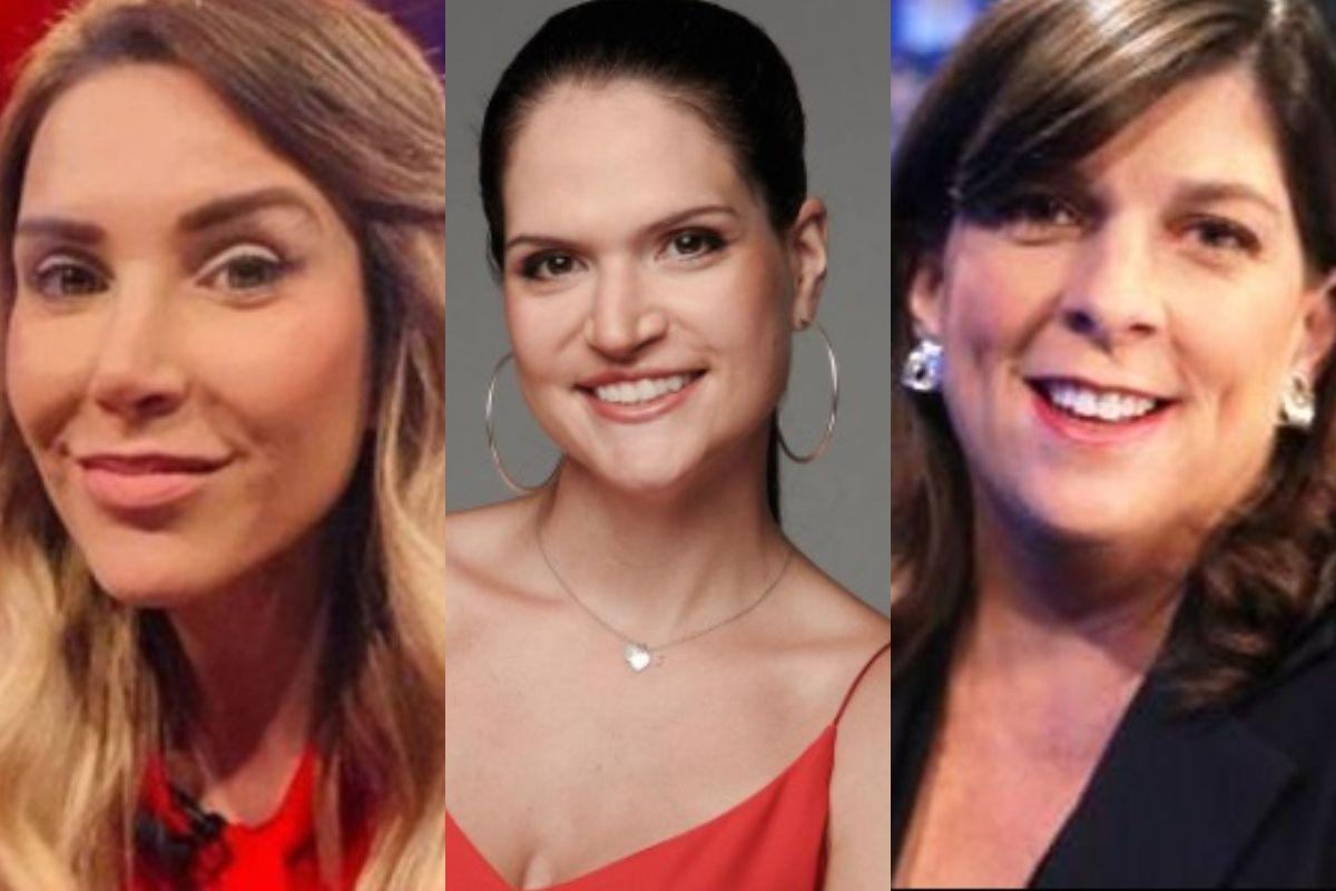 Juliana Oxenford, Loren Álvarez y Rosa María Palacios se se refieren a Guido Bellido. (Foto: Instagram/ América TV)