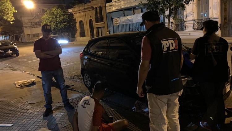 "Detención de Maximiliano ""Cachete"" Díaz"
