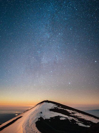 Los visitantes encontrarán una serie de observatorios que salpican las laderas de esta montaña sagrada (@tripadvisor)