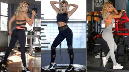 El nuevo emprendimiento personal de Claudia Ciardone: lanzó una línea de ropa deportiva sexy (Fotos: Prensa Claudia Ciardone)