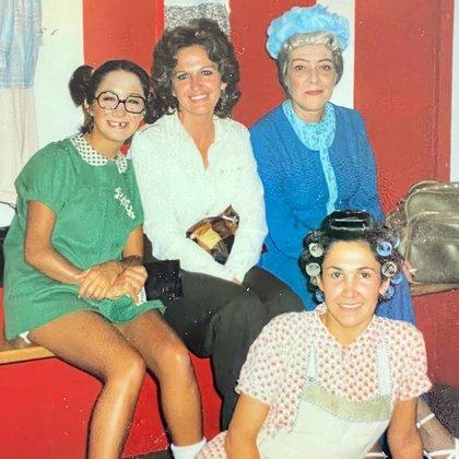 María Antonieta de las Nieves, Angelines Fernández y Florinda Meza