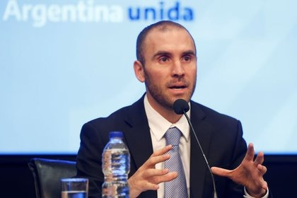 El ministro de Economía argentino, Martín Guzmán (REUTERS/Mariana Greif)
