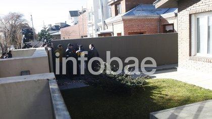 La casa de la ex presidente en Río Gallegos