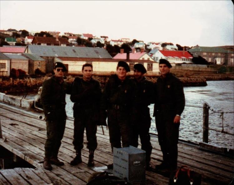 La tripulación del Rio Iguazú
