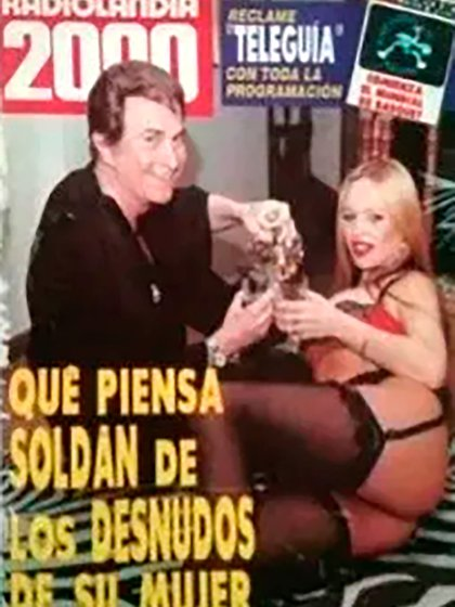 La tapa de la revista Radiolandia 2000 que publicó Silvia en sus redes sociales