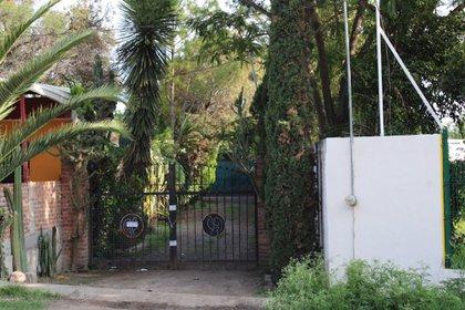 """El predio donde fue detenido Jose Antonio Yepez Ortiz, alias """"El Marro"""", el cual se ubica sobre la carretera Celaya-Juventino Rosas, en la comunidad de Tavera (Foto: DIEGO COSTA/CUARTOSCURO)"""