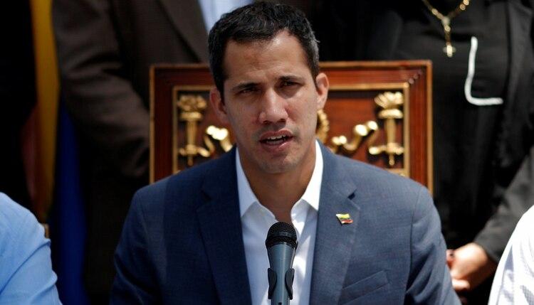 Juan Guaidó, presidente interino de Venezuela reconocido por una coalición de más de 50 países. (REUTERS/Carlos Garcia Rawlins)