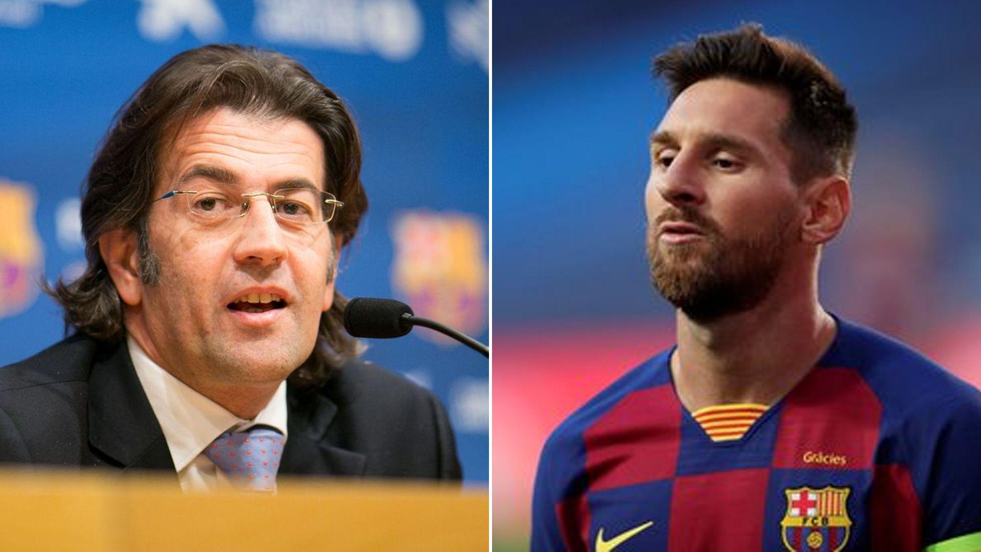 Toni Freixa y Messi