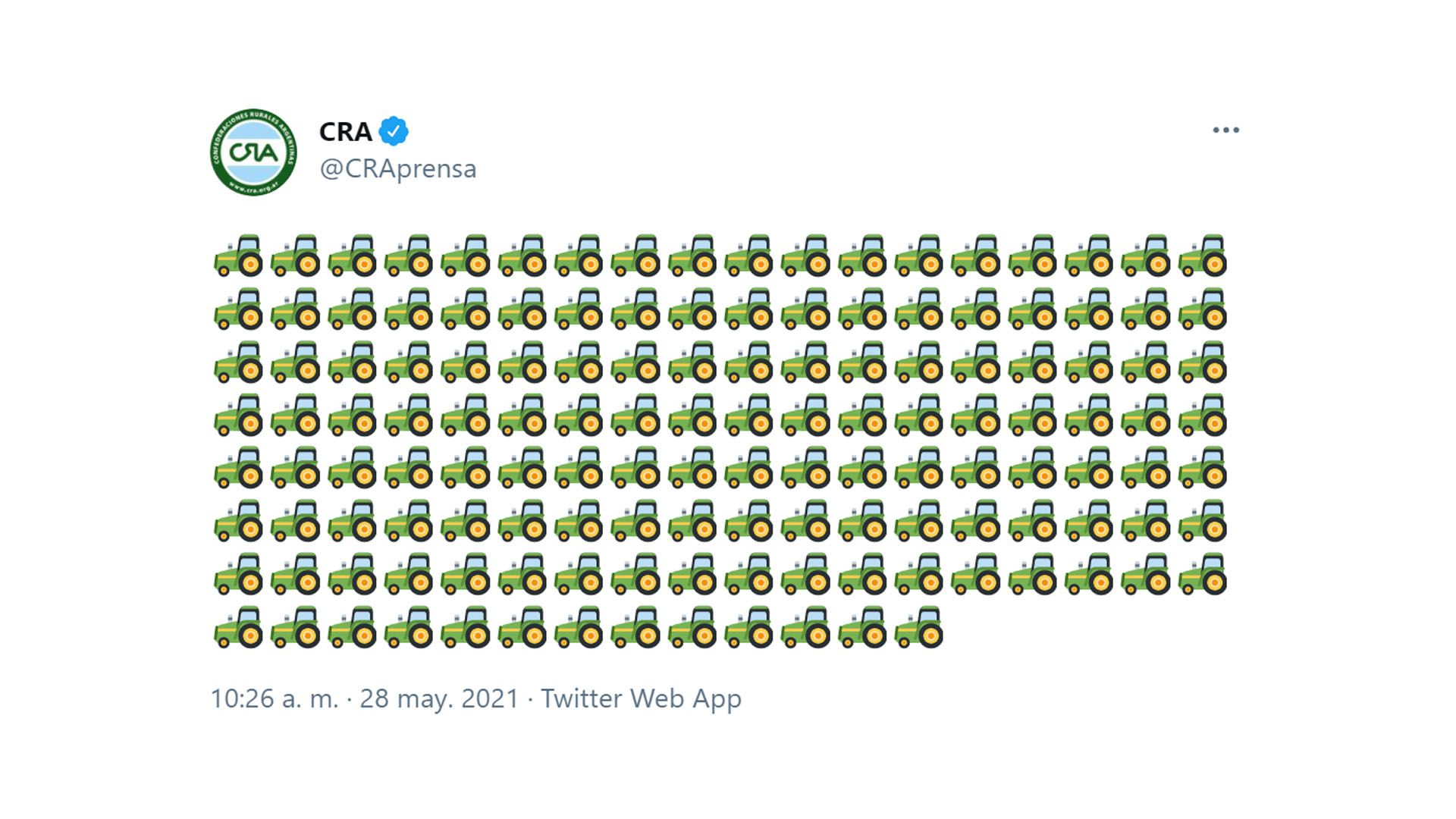 tuit CRA captura